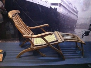 Deck Chairs Again - Titanic Deck Chair