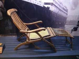 Deck Chairs Again - Titanic Deck Chair