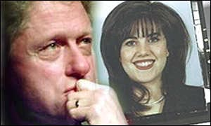 bill clinton monica lewinsky scandal