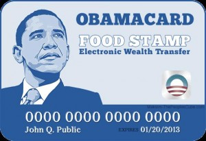 Obama food stamp card